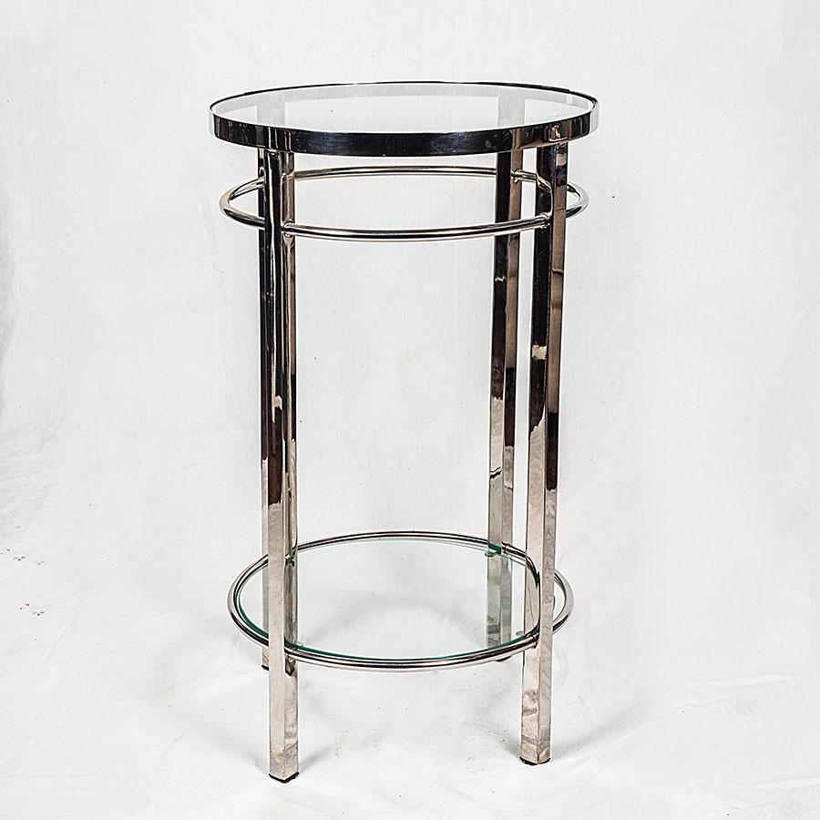 Mesa lateral cromado