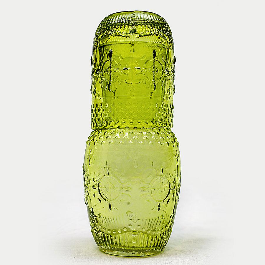 Botellon Con Vaso